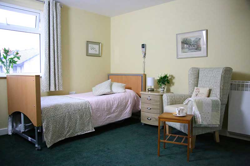 Ensuite bedroom at High Brake are home in Lancashire
