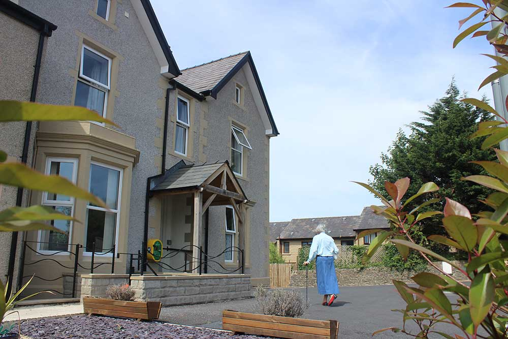 High Brake House care home exterior
