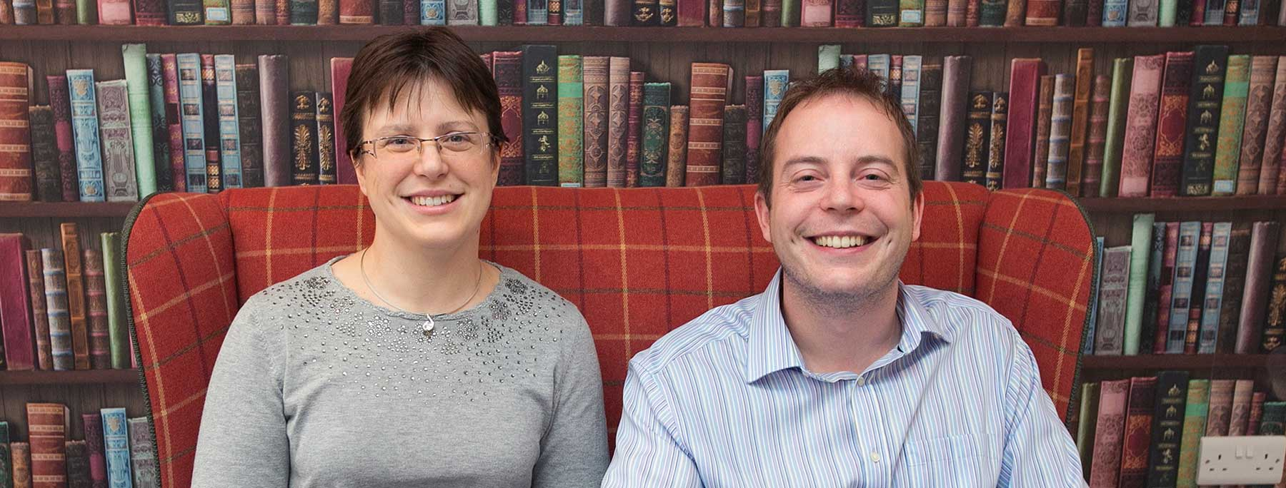 Mark Brierley and Hannah Townson, owners of High Brake House