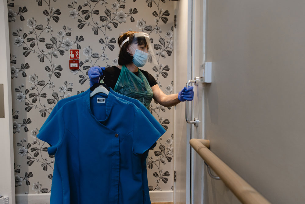 Care home laundry service photo